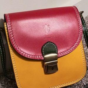 Florence Leather Crossbody